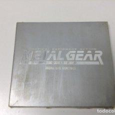 Videojuegos y Consolas: ORIGINAL GAKE SOUNDTRACK METAL GEAR SOLID. Lote 126765203