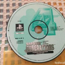 Videojuegos y Consolas: CAPCOM GENERATIONS FOURTH COLLECTION BLAZING GUNS 4 PSX PS1 PS ONE PLAYSTATION PLAY STATION KREATEN. Lote 127970595