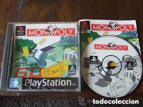 JUEGO PLAYSTATION MONOPOLY (Juguetes - Videojuegos y Consolas - Sony - PS1)
