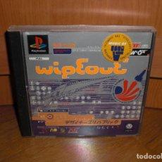Videojuegos y Consolas: WIPEOUT PRIMERA EDICIÓN 1995 - PLAYSTATION PSX - VERSIÓN ESPAÑOLA, EN PERFECTO ESTADO. Lote 128641739