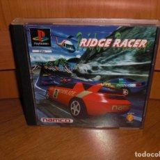 Videojuegos y Consolas: RIDGE RACER PRIMERA EDICIÓN 1995 - PLAYSTATION PSX - VERSION ESPAÑOLA, EN MUY BUEN ESTADO. Lote 128642347
