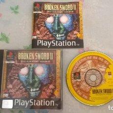 Videojuegos y Consolas: BROKEN SWORD II PARA PS1 PS2 Y PS3!!!!. Lote 128642447