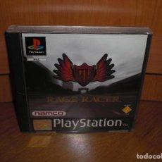 Videojuegos y Consolas: RAGE RACER PRIMERA EDICIÓN 1997 - PLAYSTATION PSX - VERSIÓN ESPAÑOLA, EN PERFECTO ESTADO. Lote 128642695
