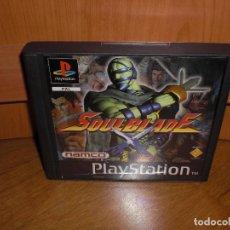 Videojuegos y Consolas: SOUL BLADE PRIMERA EDICIÓN 1996 - PLAYSTATION PSX - VERSIÓN ESPAÑOLA, EN MUY BUEN ESTADO. Lote 128643179
