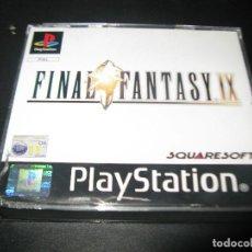 Videojuegos y Consolas: JUEGO PSX PS1 PS2 FINAL FANTASY IX 9 - PAL ESPAÑA -FALTA DISCO 4. Lote 129138995