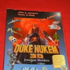 Videojuegos y Consolas: MANUAL DE DUKE NUKEN 3D - JONATHAN MENDOZA - ANAYA 1996. Lote 129731895