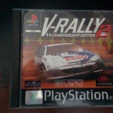 Videojuegos y Consolas: V-RALLY 2 - PLAYSTATION - PSX- PS1 - PAL ESPAÑA. Lote 130174811