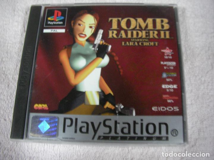 ANTIGUO JUEGO PLAYSTATION - TOMB RAIDER II (Juguetes - Videojuegos y Consolas - Sony - PS1)