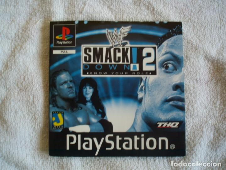 Videojuegos y Consolas: WWF SmackDown! 2: Know Your Role manual de instrucciones PS1 Sony Playstation PSX - Foto 1 - 131432706