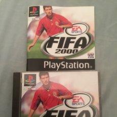 Videojuegos y Consolas: JUEGO DE PLAYSTATION 1 FIFA 2000 COMPLETO. Lote 131663369