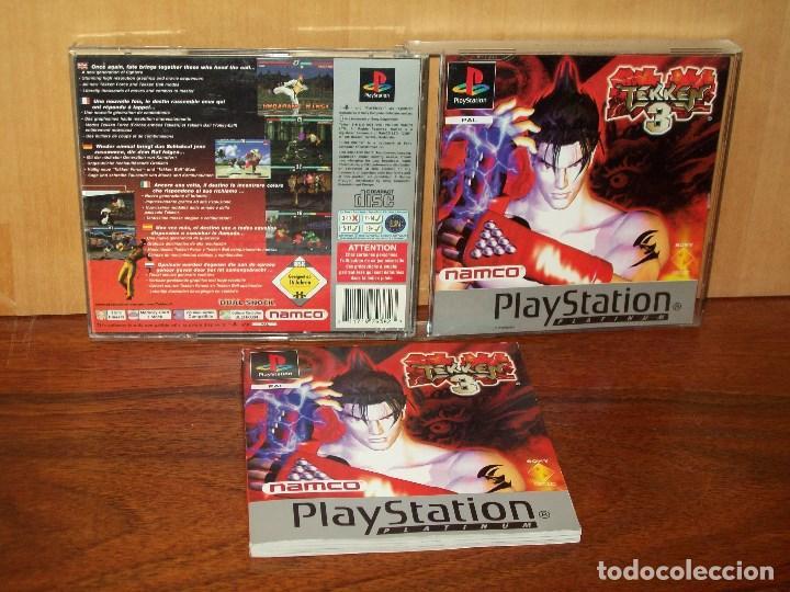 Tekken 3 Playstation 1 Con Manual De I Buy Video Games And Consoles Ps1 At Todocoleccion 132075974