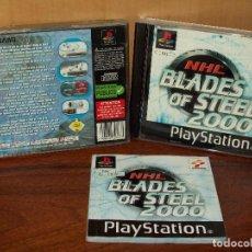 Videojuegos y Consolas: NHL BLADES OF STEEL 2000 - PLAYSTATION 14. Lote 132077754