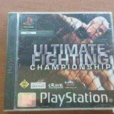 Videojuegos y Consolas: ULTIMATE FIGHTING CHAMPIONSHIP. PLAYSTATION 1 PS1. Lote 132135295
