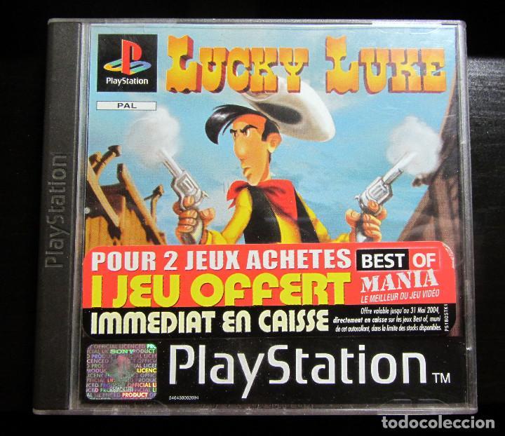 JUEGO PS1 LUCKY LUKE PAL PLAY STATION 1998 (Juguetes - Videojuegos y Consolas - Sony - PS1)