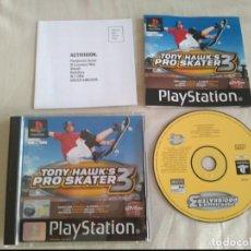 Videogiochi e Consoli: TONY HAWK'S PRO SKATER 3 PARA PS1 PS2 PS3!!!!!. Lote 132379146