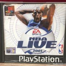 Videojuegos y Consolas: JUEGO PLAYSTATION 1 NBA LIVE 2001. Lote 132647923