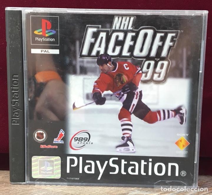 JUEGO PLAYSTATION 1 NHL FACE OFF 99 (Juguetes - Videojuegos y Consolas - Sony - PS1)