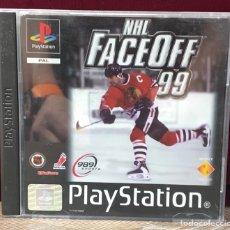 Videojuegos y Consolas: JUEGO PLAYSTATION 1 NHL FACE OFF 99. Lote 132707351