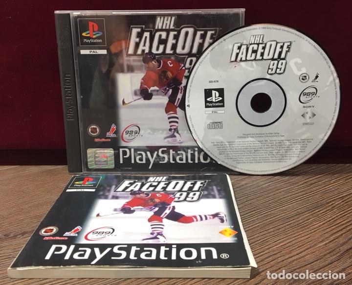 Videojuegos y Consolas: JUEGO PLAYSTATION 1 NHL FACE OFF 99 - Foto 2 - 132707351