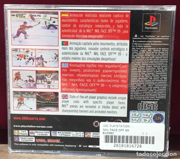 Videojuegos y Consolas: JUEGO PLAYSTATION 1 NHL FACE OFF 99 - Foto 3 - 132707351