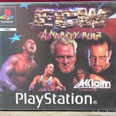 Videojogos e Consolas: JUEGO PLAYSTATION 1 ECW ANARCHY RULZ. Lote 132927130