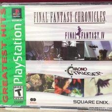 Videojuegos y Consolas: JUEGO PLAYSTATION 1 FINAL FANTASY CRONICLES. Lote 132932130