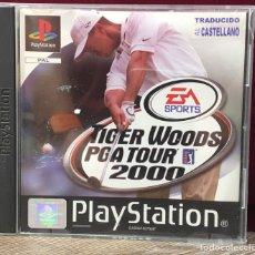 Videojuegos y Consolas: JUEGO PLAYSTATION 1 TIGER WOODS PGA TOUR 2000. Lote 132932730