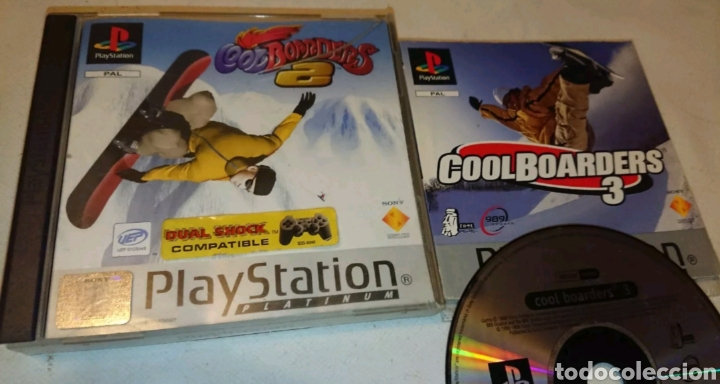 PACK COOLBOARDERS 2 (COMPLETO) + COOLBOARDERS 3 (SOLO DISCO + MANUAL). PS1 (Juguetes - Videojuegos y Consolas - Sony - PS1)