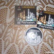 Videojuegos y Consolas: JUEHO PLAYSTATION CHECKMATE II. Lote 132962262