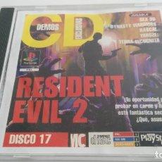 Videojuegos y Consolas: JUEGO DEMO PSX RESIDENT EVIL 2. Lote 133009762