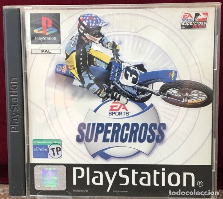 JUEGO PLAYSTATION 1 EA SPORTS SUPERCROSS (Juguetes - Videojuegos y Consolas - Sony - PS1)
