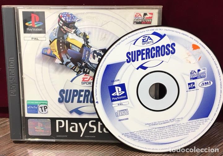 Videojuegos y Consolas: JUEGO PLAYSTATION 1 EA SPORTS SUPERCROSS - Foto 2 - 133411635