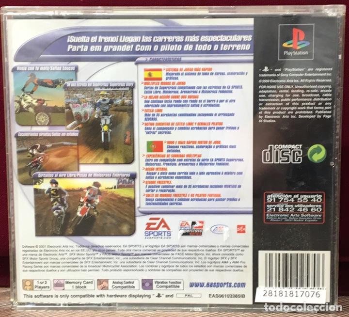 Videojuegos y Consolas: JUEGO PLAYSTATION 1 EA SPORTS SUPERCROSS - Foto 3 - 133411635