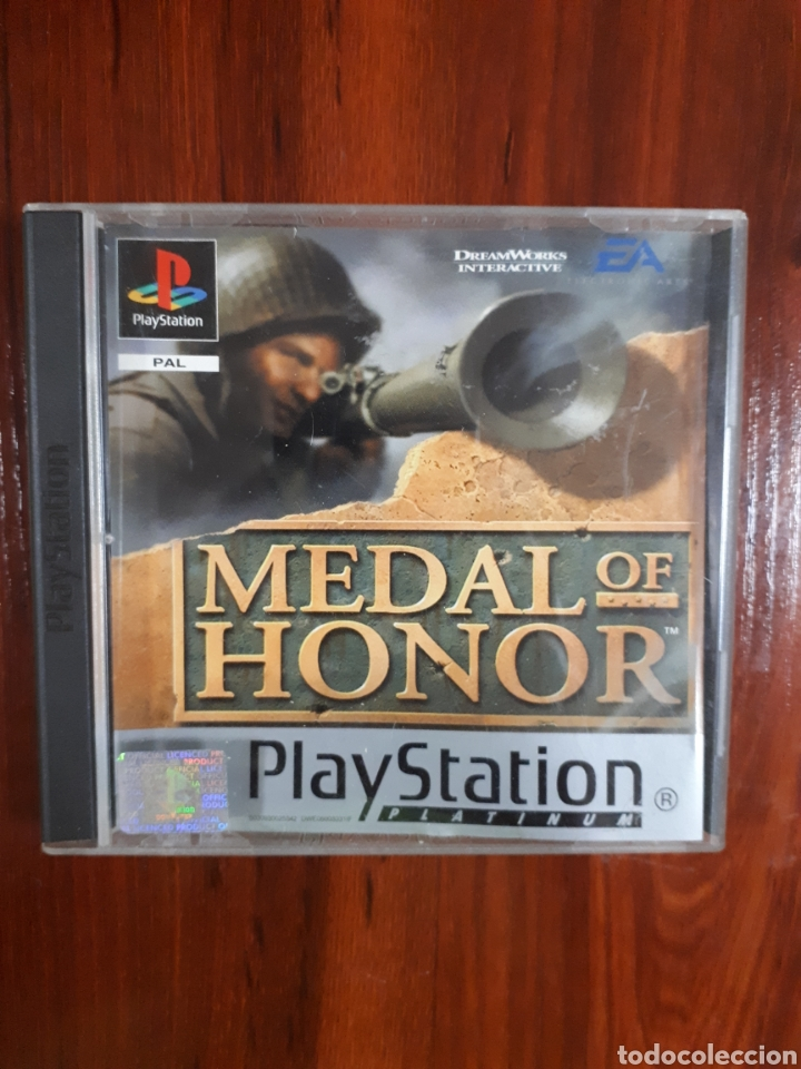 MEDAL OF HONOR - SONY PLAYSTATION 1 - PS1 - PSX - PAL - INGLÉS (Juguetes - Videojuegos y Consolas - Sony - PS1)