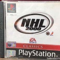 Videojuegos y Consolas: JUEGO PLAYSTATION 1 NHL 2000. Lote 133614633