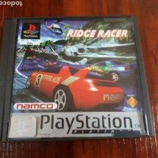 Videojuegos y Consolas: RIDGE RACER - SONY PLAYSTATION 1 - PS1 - PLATINUM - NAMCO - PAL. Lote 72367139