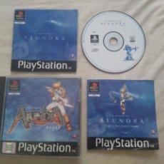 Videojuegos y Consolas: ALUNDRA PARA PS1 PS2 Y PS3!!!! . Lote 134065118