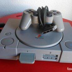 Videojuegos y Consolas: CONSOLA PLAYSTATION 1 PS1 + MANDO + MEMORY CARD FUNCIONANDO. Lote 134078446