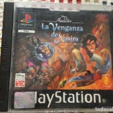 Videojuegos y Consolas: DISNEY ALADDIN LA VENGANZA DE NASIRA ALADIN PSX PS1 PLAYSTATION 1 PLAY STATION ONE PS KREATEN. Lote 134115454