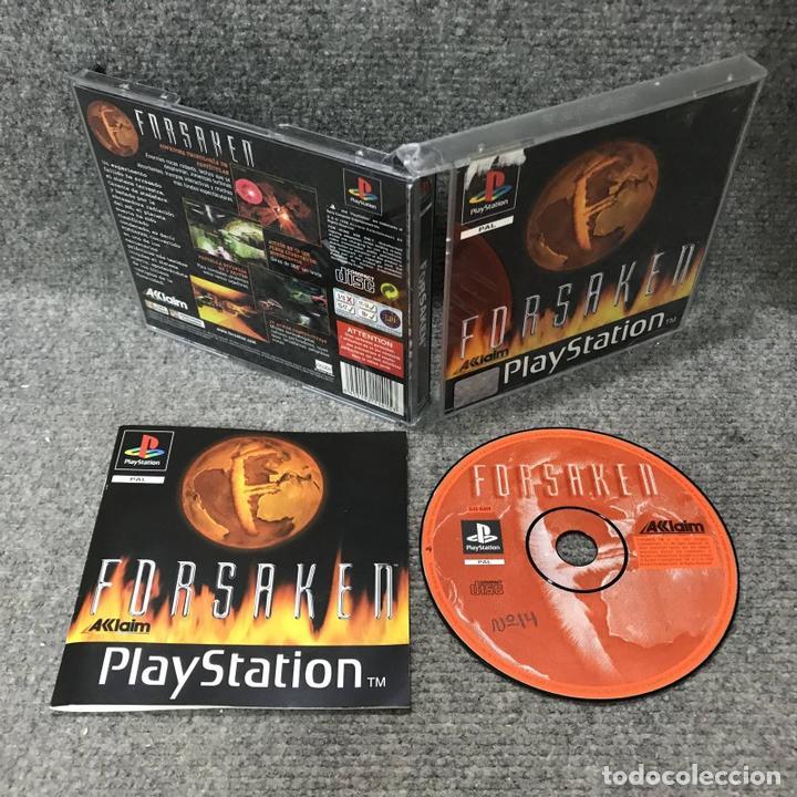 FORSAKEN SONY PLAYSTATION (Juguetes - Videojuegos y Consolas - Sony - PS1)