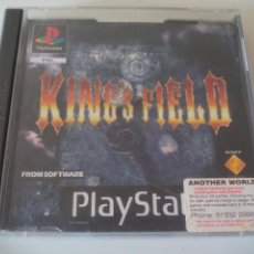Videojuegos y Consolas: JUEGO KING'S FIELD PLAYSTATION 1 PS1 PSONE PLAY STATION. PAL. RAREZA. Lote 134712438