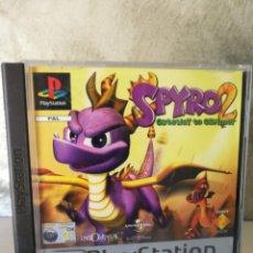 Videojuegos y Consolas: SPYRO 2 PS1 COMPLETO. Lote 135020738
