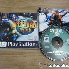 Videojuegos y Consolas: JUEGO PLAYSTATION SPEEDBALL 2000. Lote 135072534