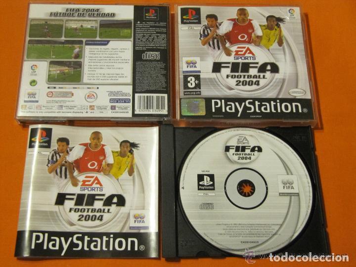 JUEGO PLAYSTATION FIFA FOOTBALL 2004 (Juguetes - Videojuegos y Consolas - Sony - PS1)