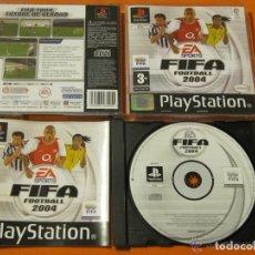 Videojuegos y Consolas: JUEGO PLAYSTATION FIFA FOOTBALL 2004. Lote 135282178