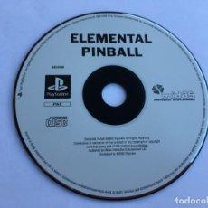 Videojuegos y Consolas: JUEGO ELEMENTAL PINBALL - PS1- PLAYSTATION 1 - PSX. Lote 135362286
