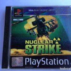 Videojuegos y Consolas: JUEGO NUCLEAR STRIKE - PS1- PLAYSTATION 1 - PSX. Lote 135362938