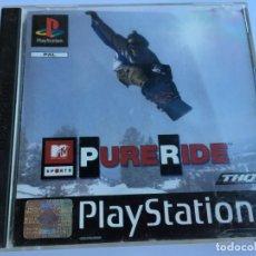 Videojuegos y Consolas: JUEGO PURE RIDE - PS1- PLAYSTATION 1 - PSX. Lote 135363254