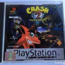 Videojuegos y Consolas: JUEGO CRASH BANDICOOT 2 - PS1- PLAYSTATION 1 - PSX. Lote 135364466
