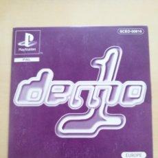 Videojuegos y Consolas: DEMO 1, PLAYSTATION 1, 1997/1998. Lote 135486177